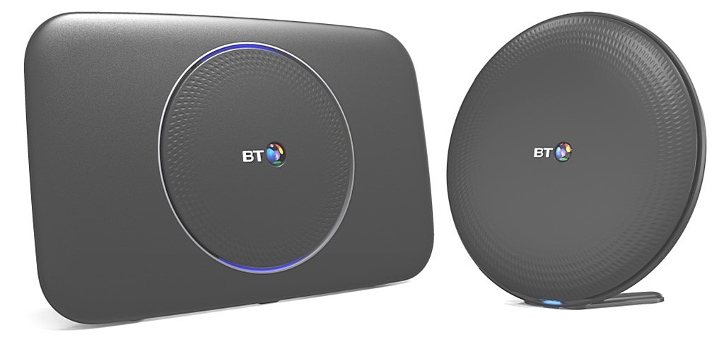 bt smart hub router and complete wifi disc repeater