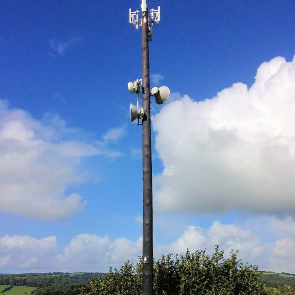 airband wireless broadband mast