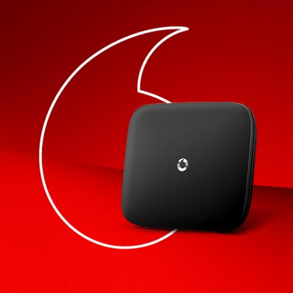 vodafone home broadband router logo