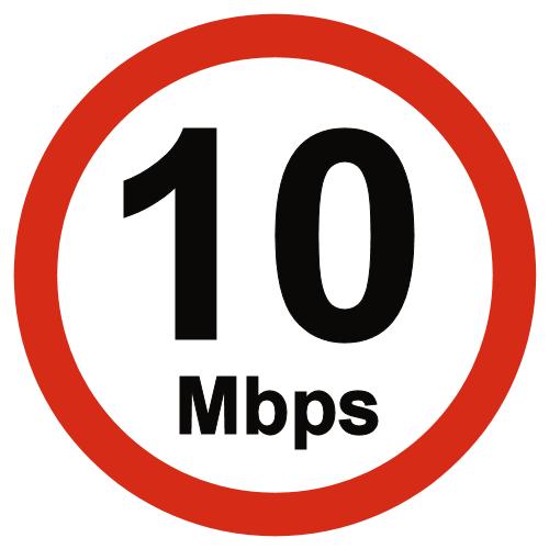 10Mbps UK Broadband USO