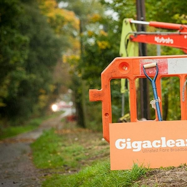 gigaclear rural path fibre optic broadband