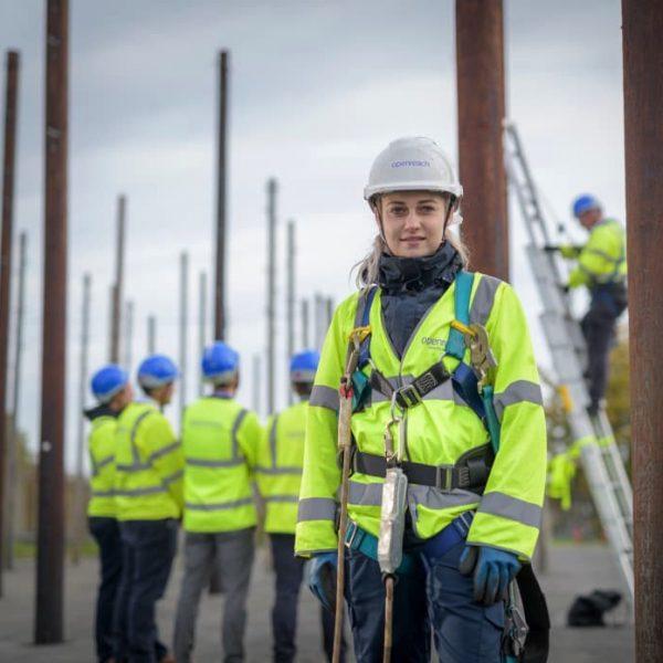 telegraph poles openreach training