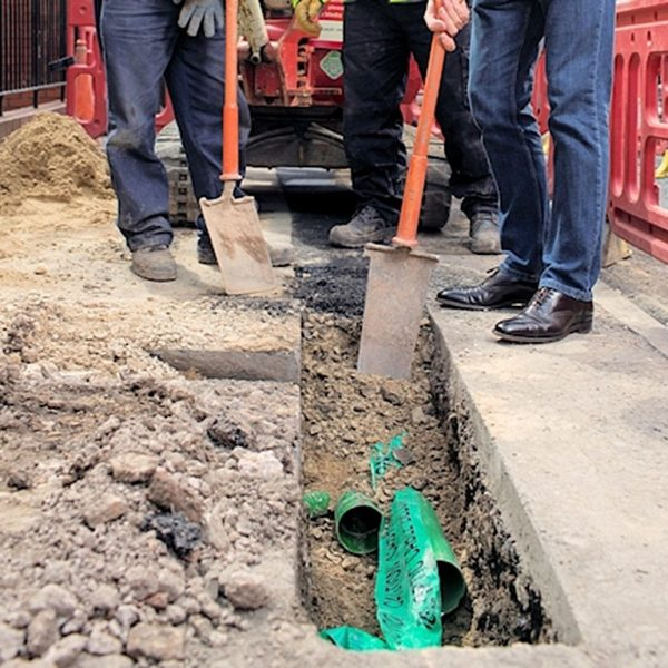 virgin media cable network street works