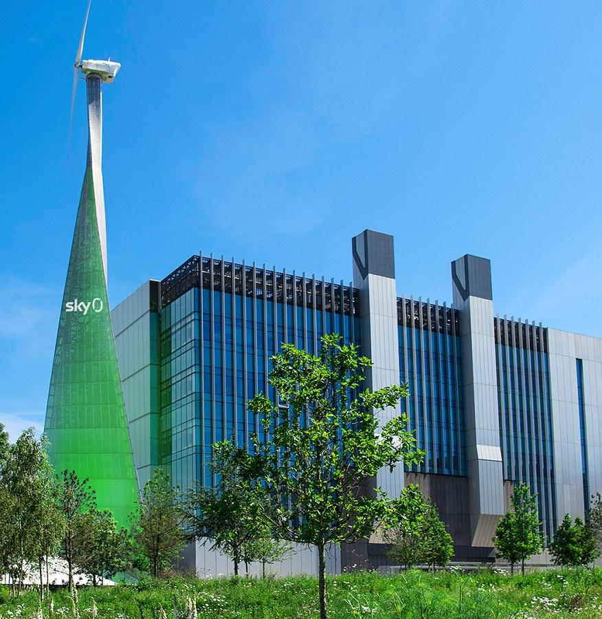 sky net zero carbon building