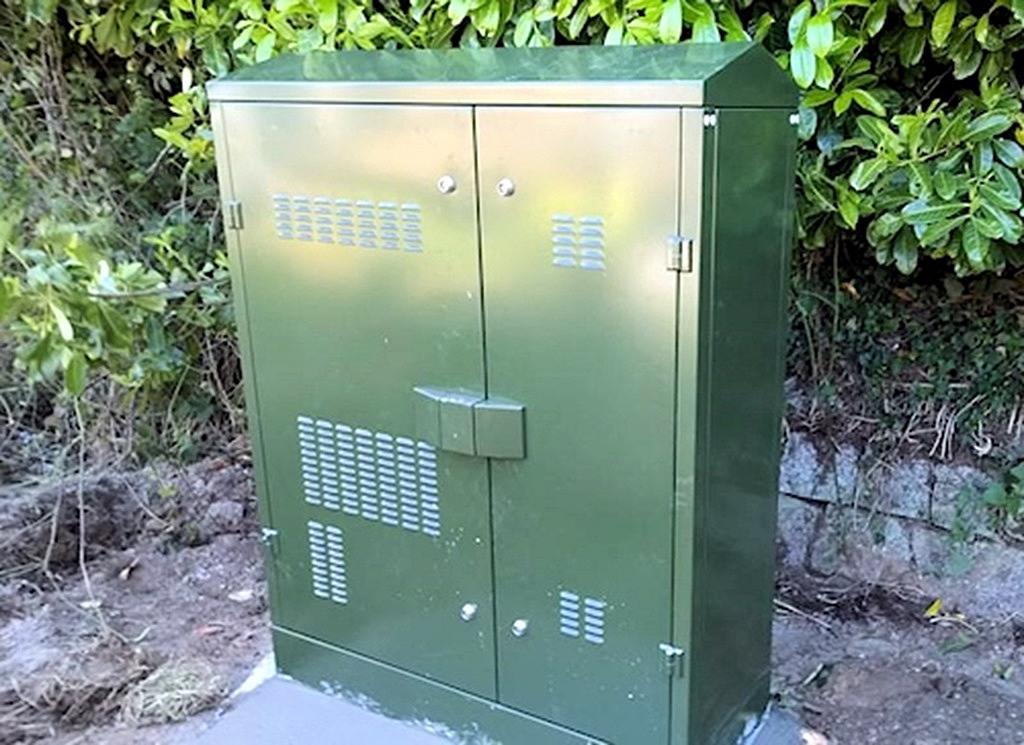 street cabinet fttc fibre broadband