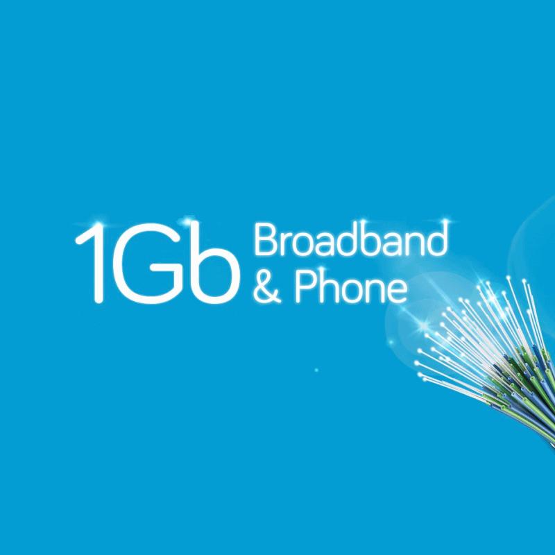 hyperoptic 1gbps broadband sign
