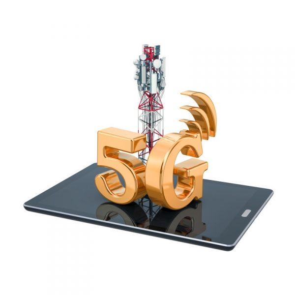 5g mast on smartphone uk mobile