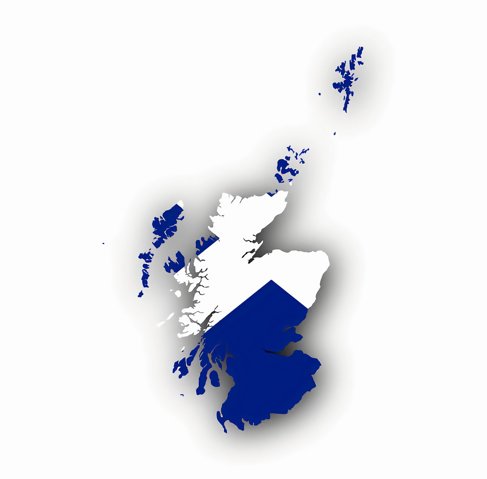 scotland map new