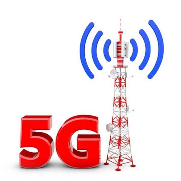 5G Mobile Wireless Radio Mast