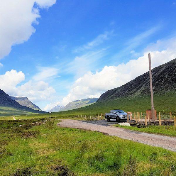 ee esn 4g mobile mast rural scotland
