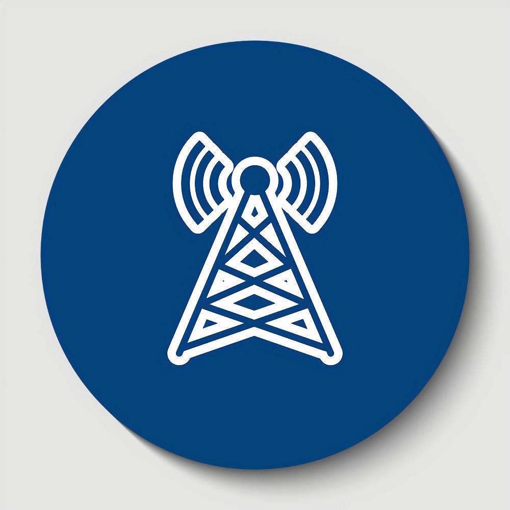 mobile mast uk in circle
