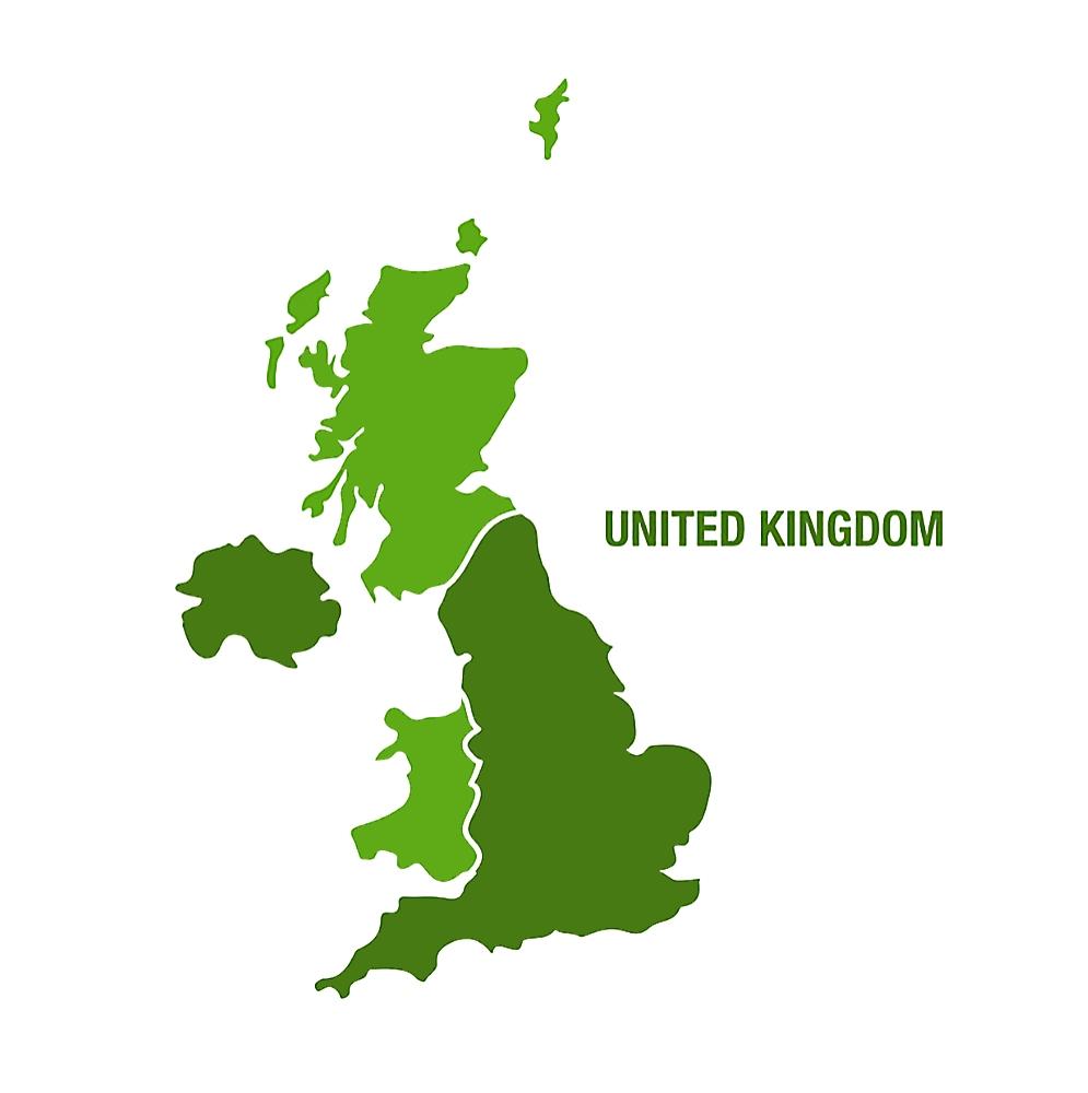 united kingdom green telecoms map