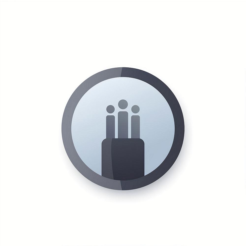 optical fiber cable, bandwidth vector icon, logo