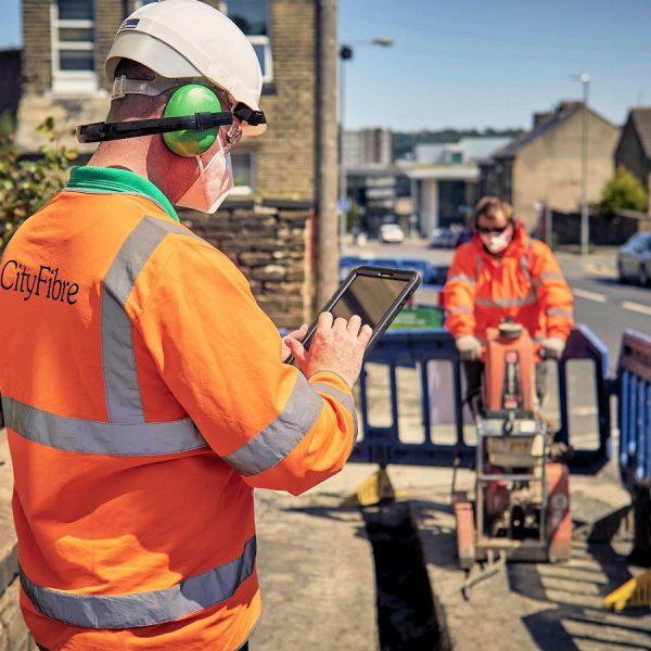 cityfibre street works engineer fttp
