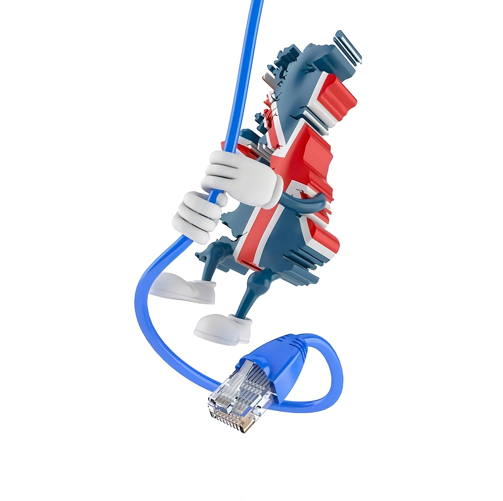 united kingdom map and broadband cable mobile