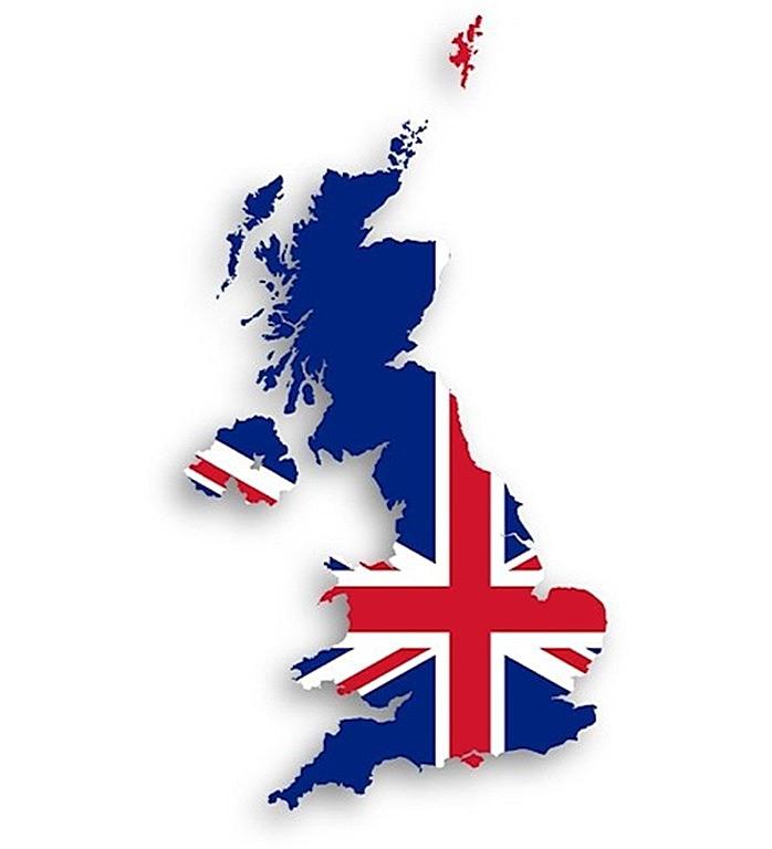 united kingdom of great britain map 500