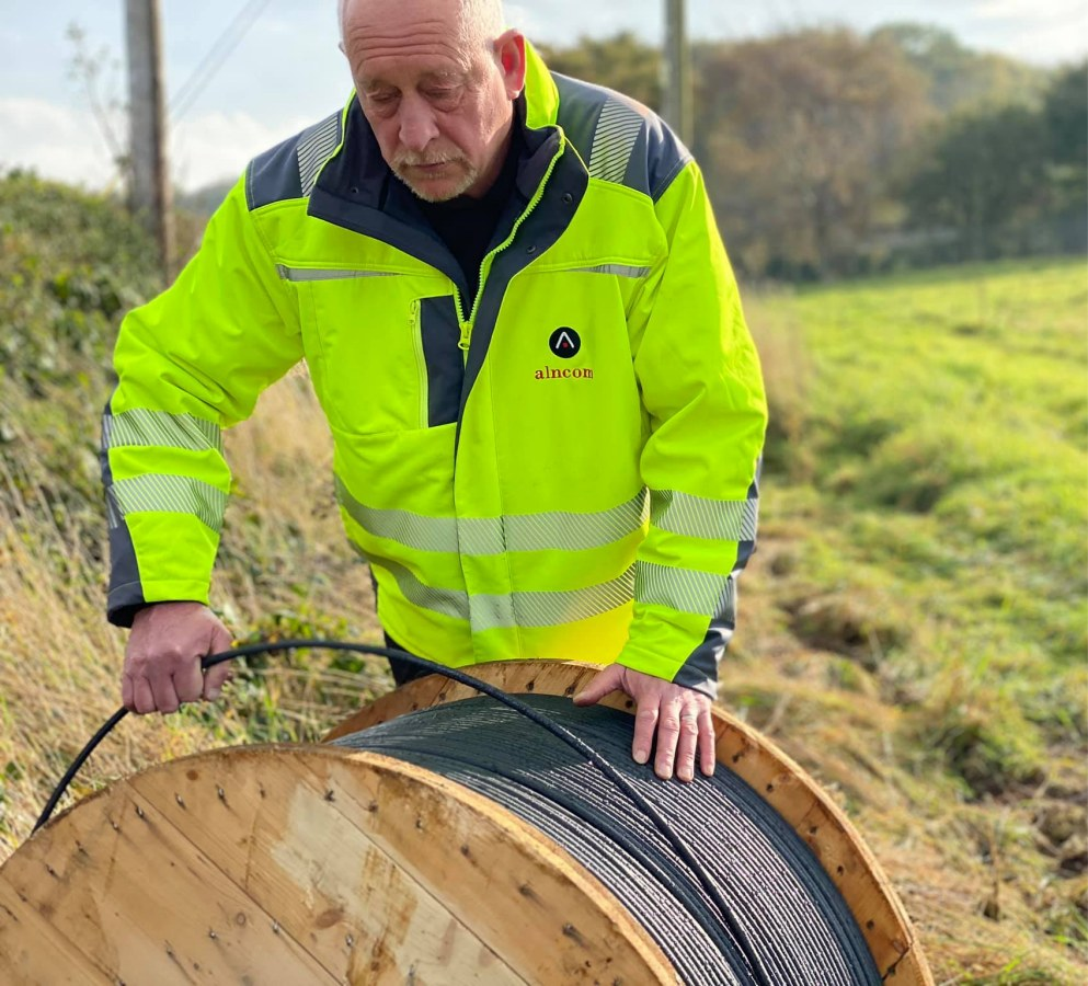 alncom_fibre_optic_cable_drum