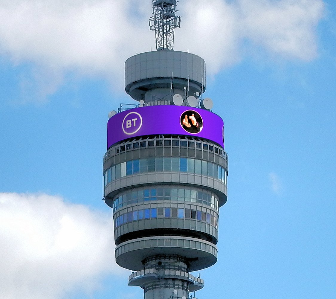 bt tower london 2020