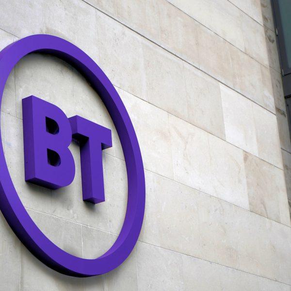 bt office building uk logo photo