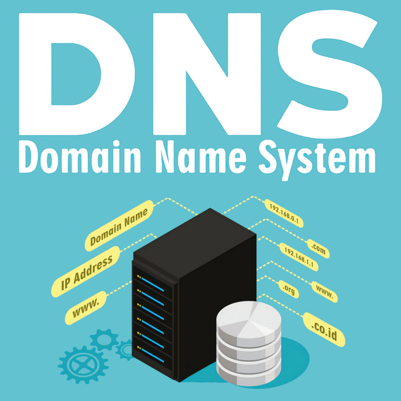 dns domain name system logo uk isp