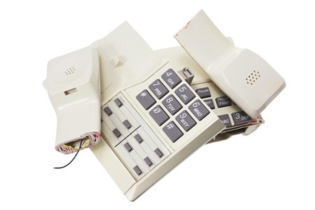 telephone broken uk