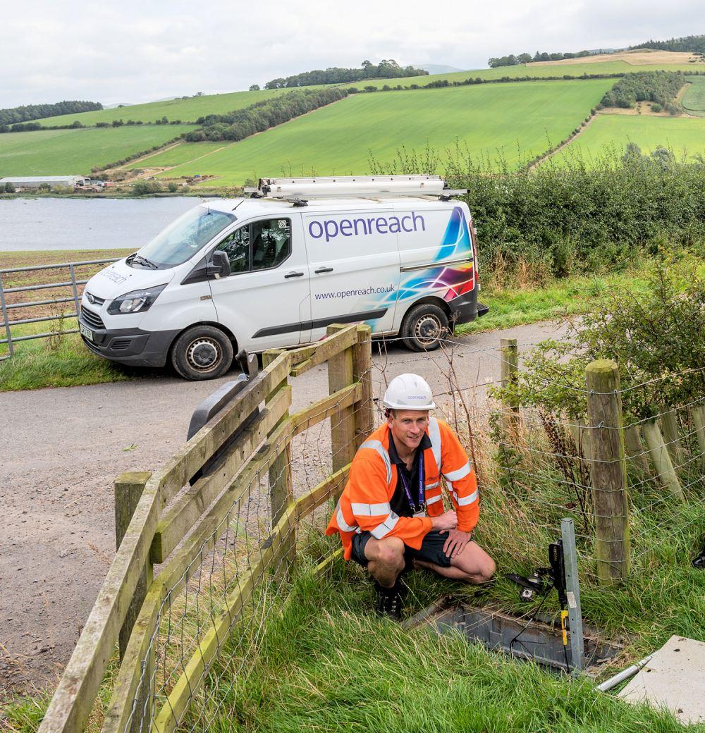 BT to Ramp-up Openreach's Rural UK FTTP Broadband Rollout