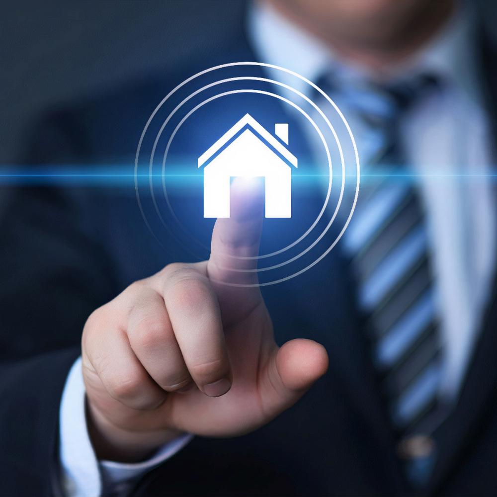 Property Management Real Estate Mortgage Rent Buy concept.