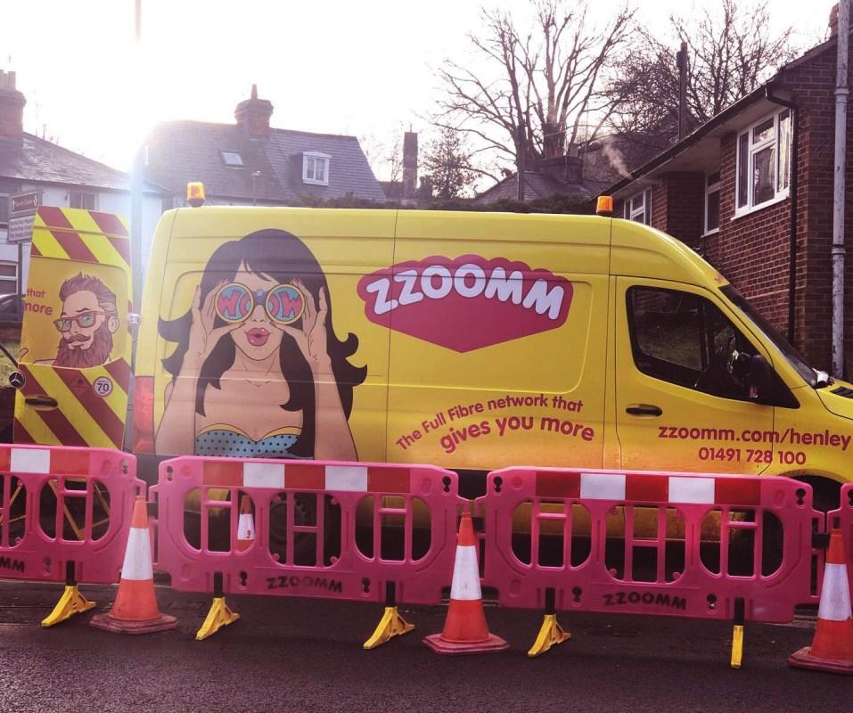 zzoomm yellow van
