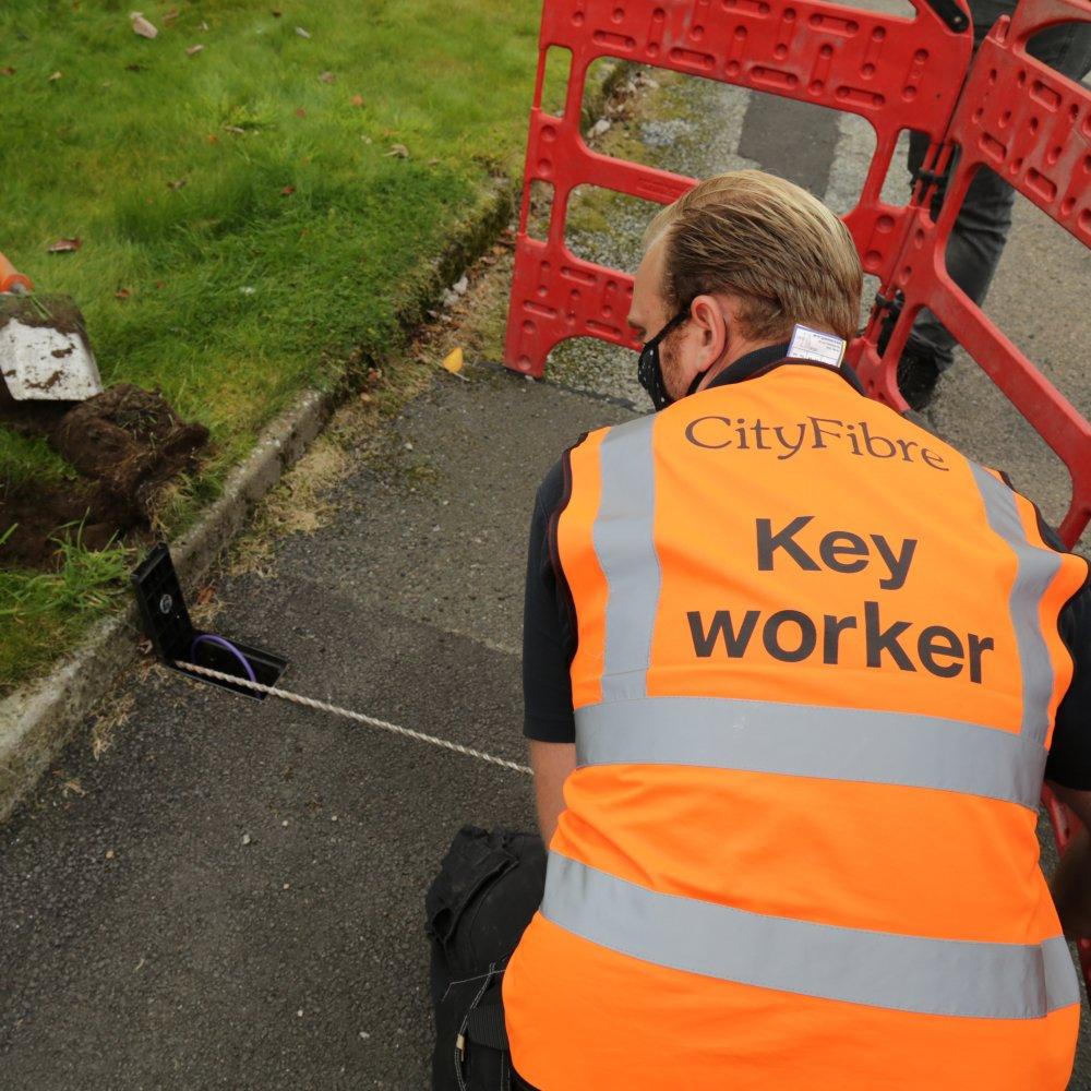 CityFibre Garden Drill Photo