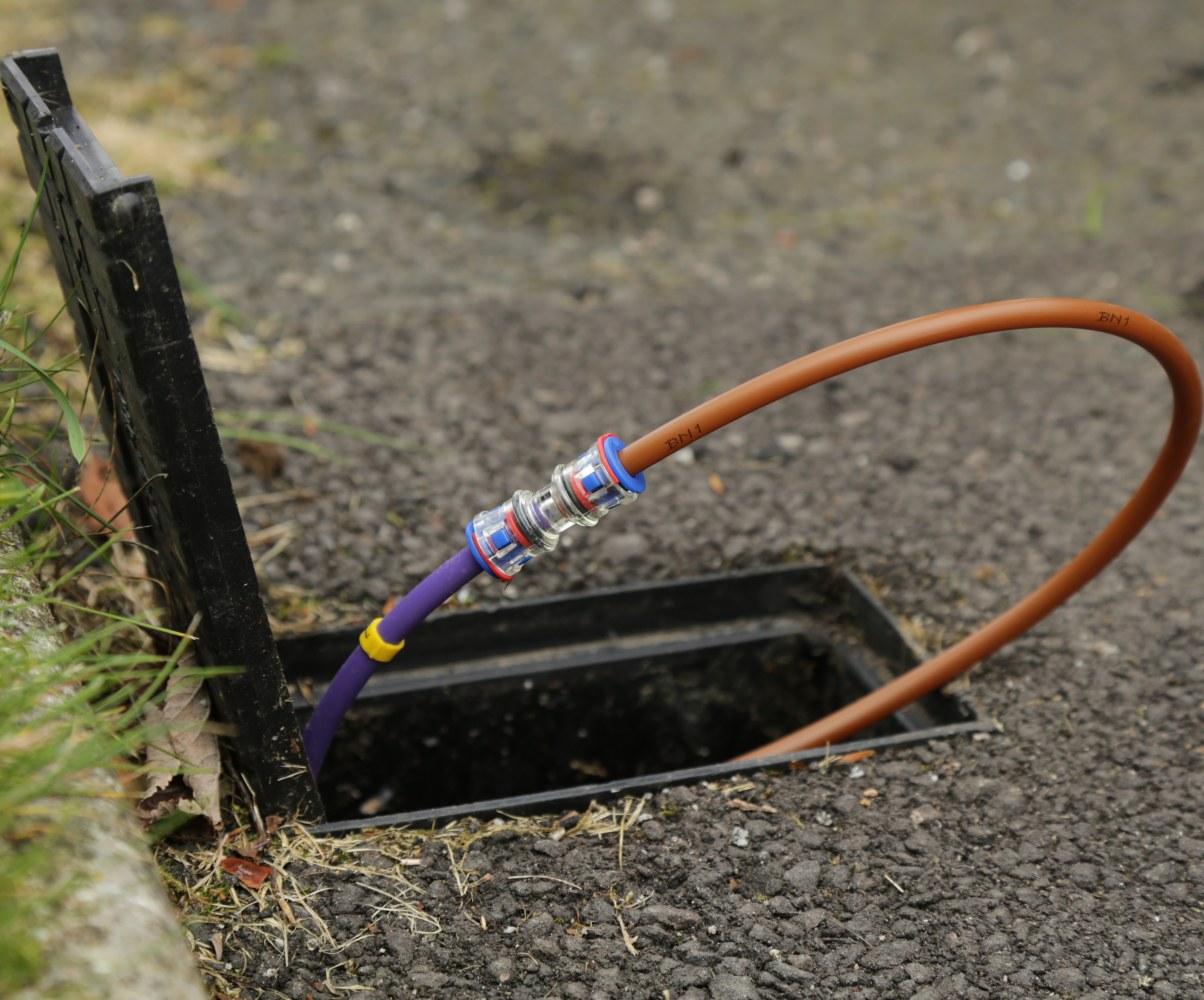 CityFibre Garden Install connector