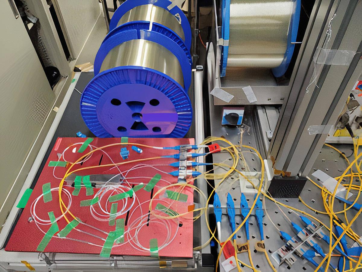 Japan-Fibre-Optic-Lab-Test-Setup