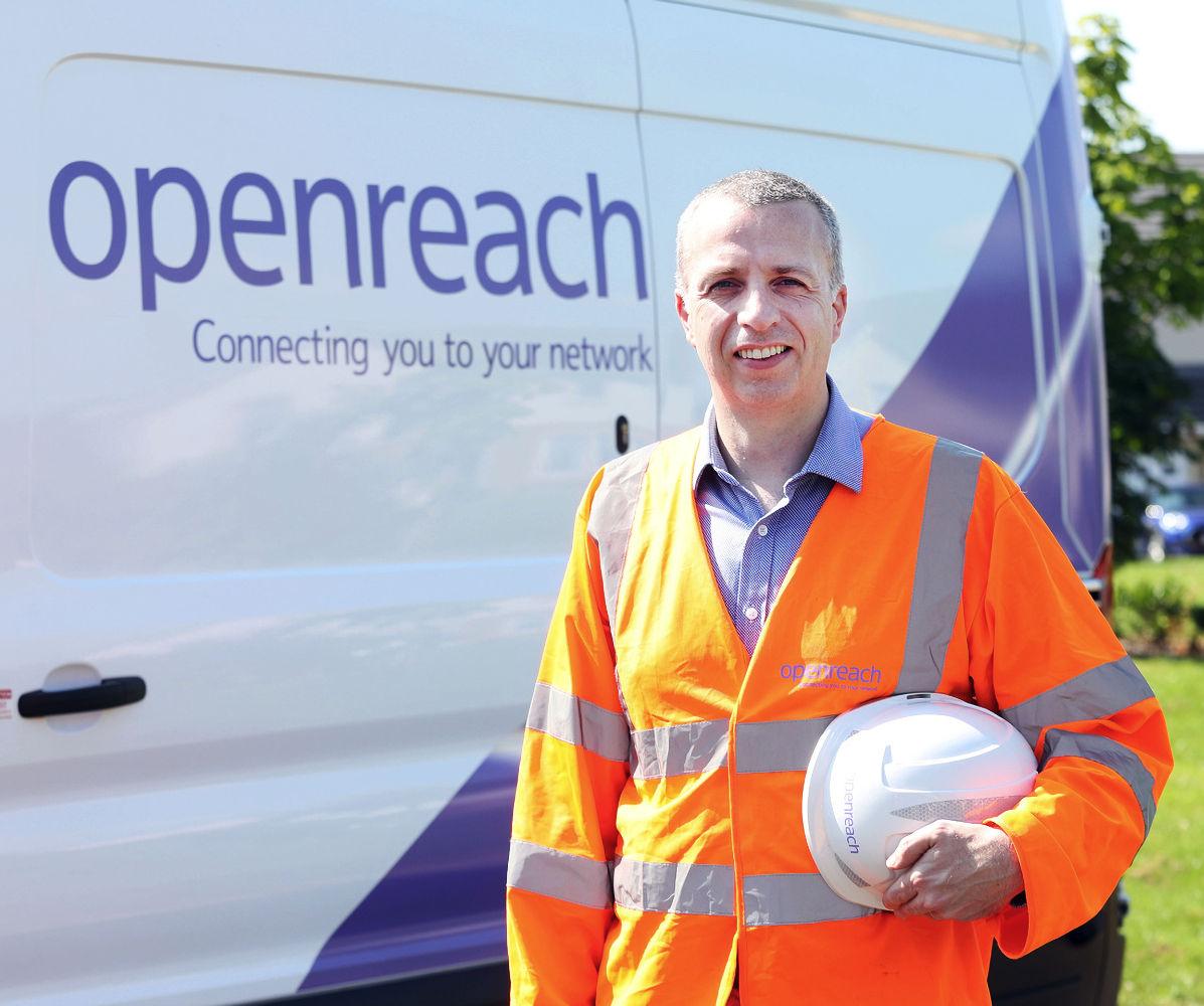 Andrew Hepburn Openreach Scotland