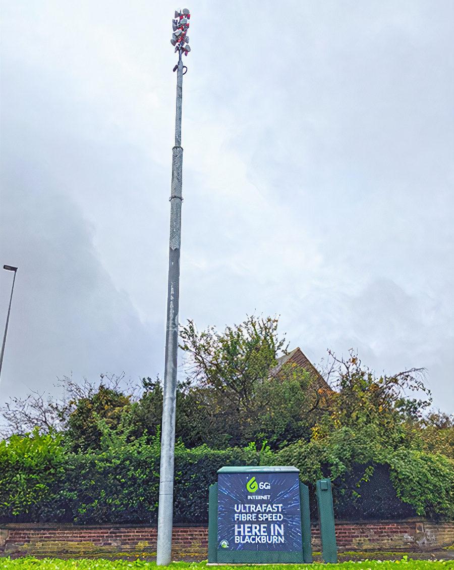 IX Wireless Mast in Blackburn