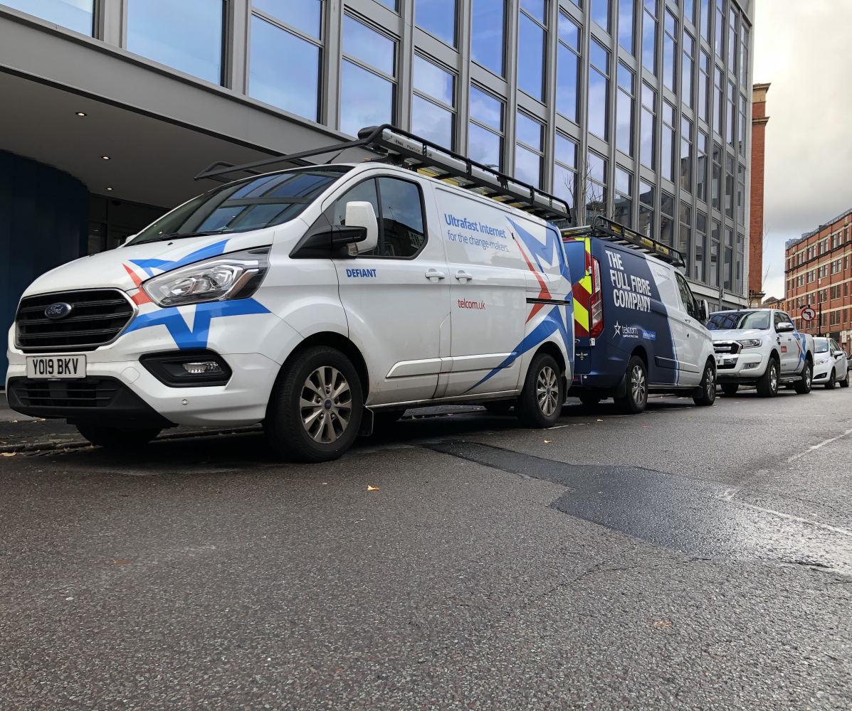 Telcom-engineer-vans
