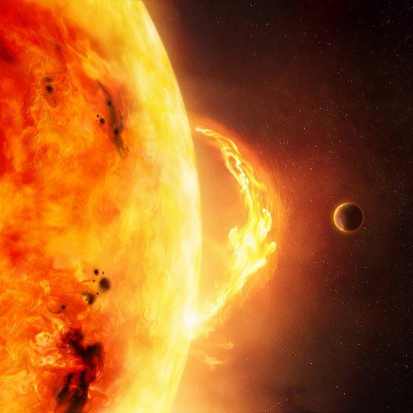 The Sun - Solar Flare and CME