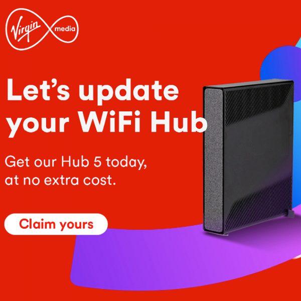 Virgin Media O2 UK Hub 5 Router