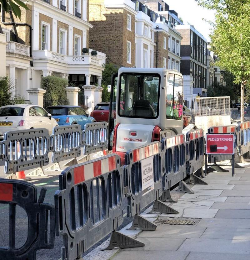 gnetwork london street build