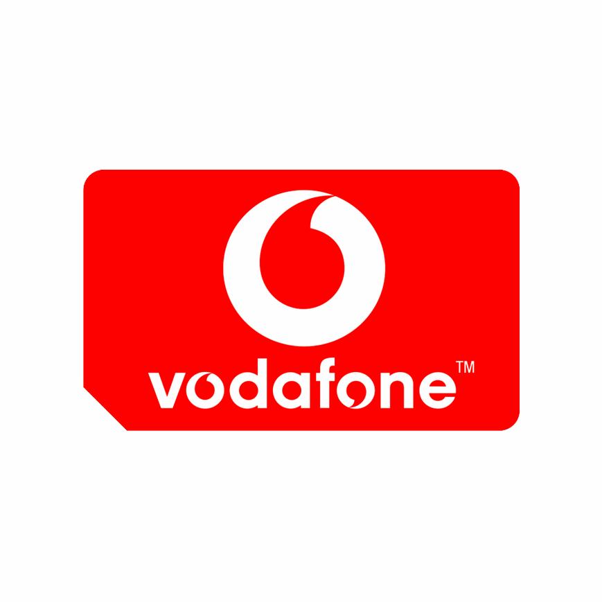vodafone uk 2017 mobile sim logo