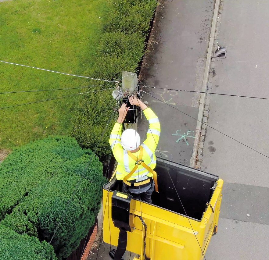 cityfibre aerial ftth engineer two