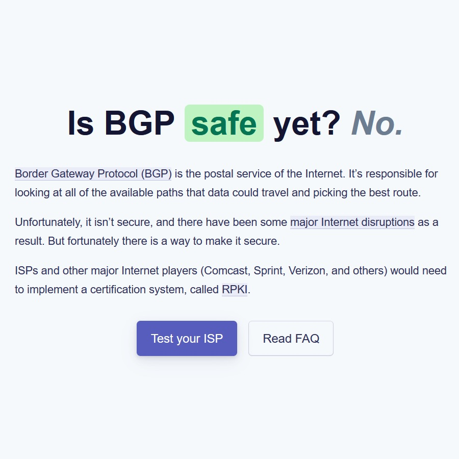 BGP_safe_or_not