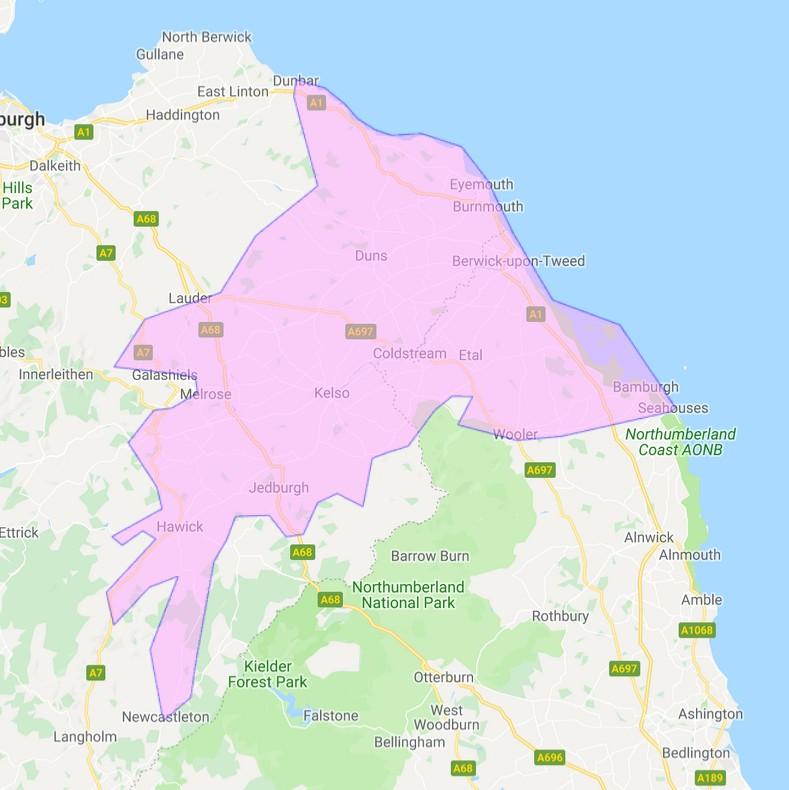 borderlink coverage map