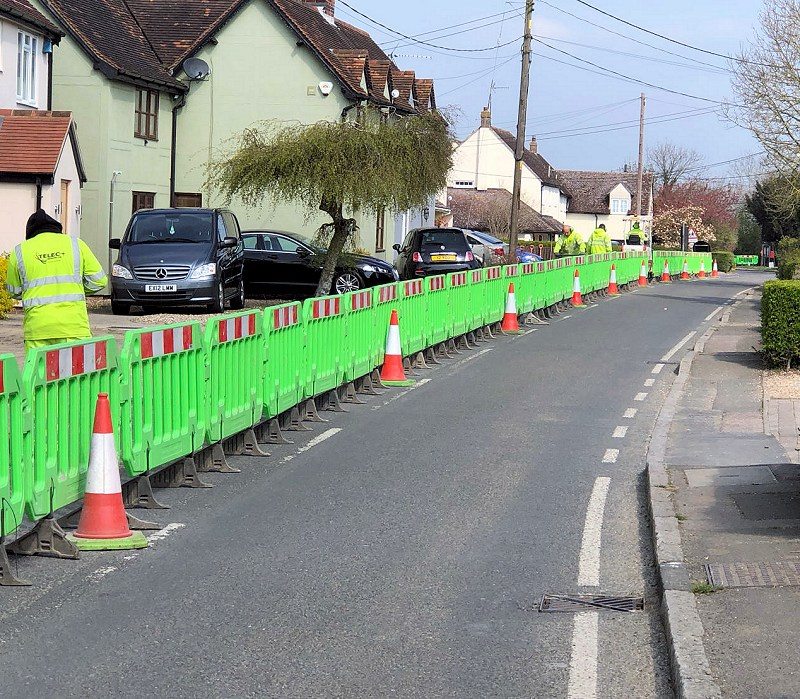 county broadband fttp street works