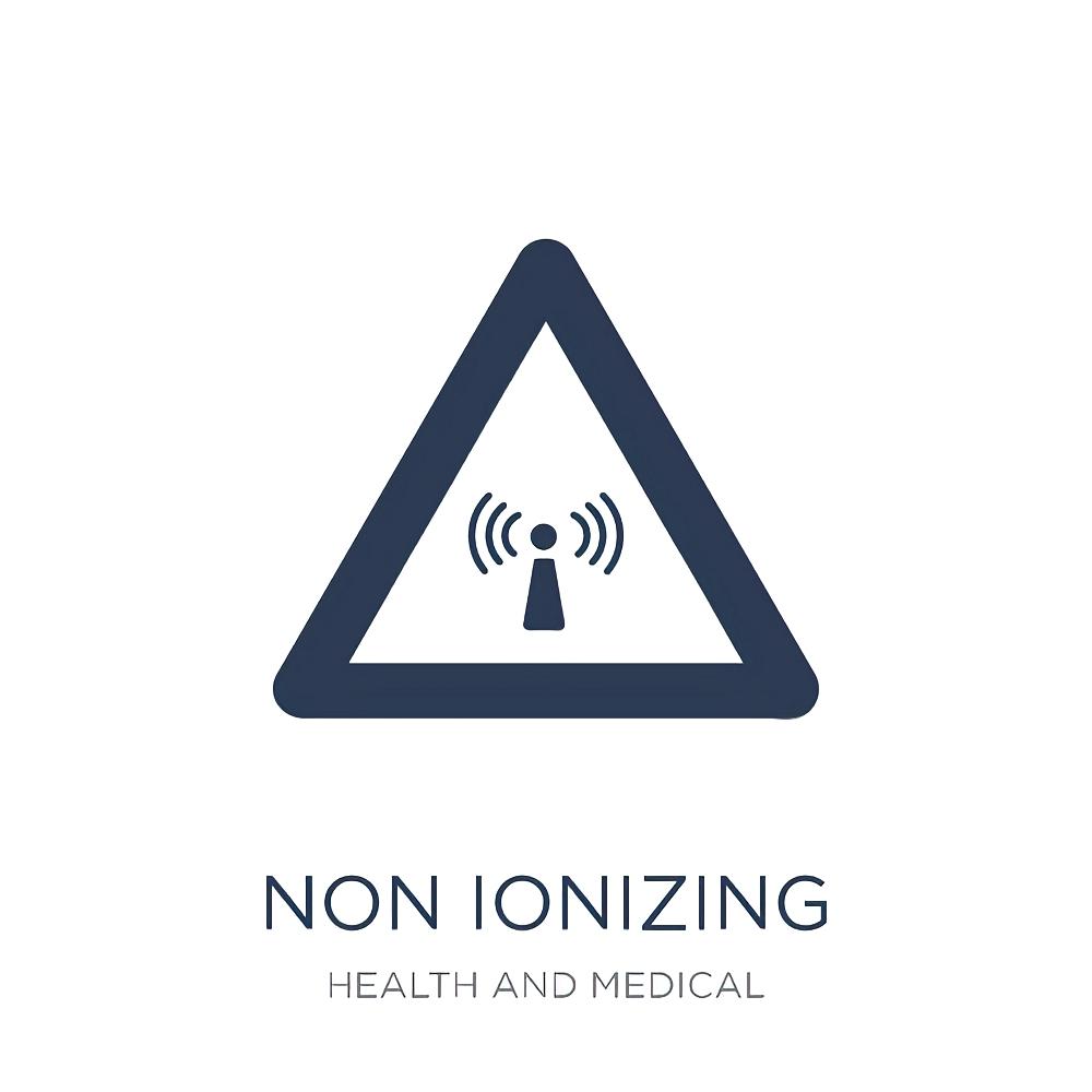 Non ionizing radiation icon