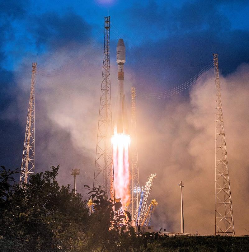 oneweb rocket launch arianespace soyuz