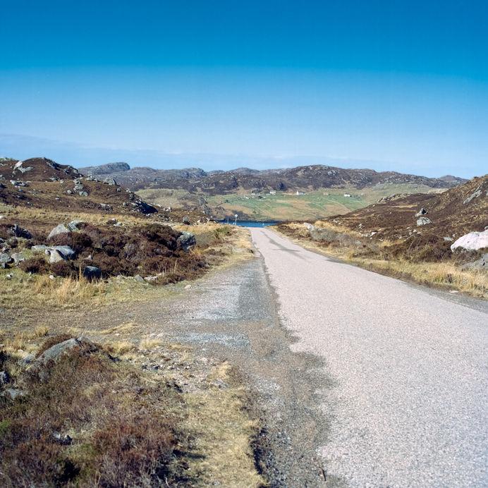 scottish highlands road