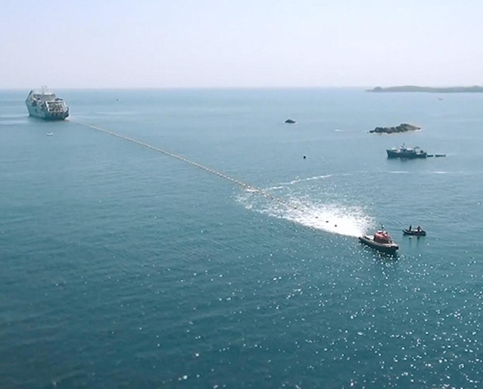submarine fibre optic cornwall