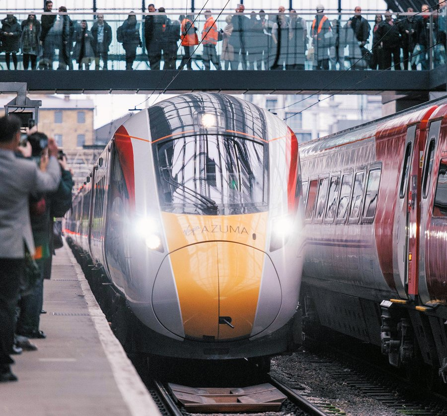 18th March 2016, King's Cross, London: Sir Richard Branson unveils the Virgin Azuma – the first of Virgin Trains' new fleet of trains which is set to revolutionise travel on the East Coast from 2018.  For further information please contact Nicola Burton at Hope & Glory PR on 07892 692 825 or nicola.burton@hopeandglorypr