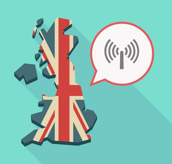 wireless signal uk map